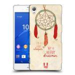 Porovnání ceny Head Case Designs Plastové pouzdro na mobil Sony Xperia Z3 D6603 HEAD CASE LAPAČ HEAVY DREAMER
