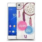Porovnání ceny Head Case Designs Plastové pouzdro na mobil Sony Xperia Z3 D6603 HEAD CASE LAPAČ FEARLESS