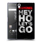 Porovnání ceny HEAD CASE Designs Silikonové pouzdro na mobil Sony Xperia Z5 Premium HEAD CASE The Ramones - HEY HO LET´S GO