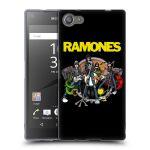 Porovnání ceny HEAD CASE Designs Silikonové pouzdro na mobil Sony Xperia Z5 Compact HEAD CASE The Ramones - ILUSTRACE KAPELY