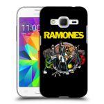 Porovnání ceny Head Case Designs Plastové pouzdro na mobil Samsung Galaxy Core Prime LTE HEAD CASE The Ramones - ILUSTRACE KAPELY