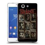 Porovnání ceny Head Case Designs Silikonové pouzdro na mobil Sony Xperia Z3 Compact D5803 HEAD CASE Slipknot - Masky