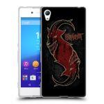 Porovnání ceny Head Case Designs Silikonové pouzdro na mobil Sony Xperia Z3+ (Plus) HEAD CASE Slipknot - Rudý kozel