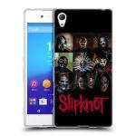 Porovnání ceny Head Case Designs Silikonové pouzdro na mobil Sony Xperia Z3+ (Plus) HEAD CASE Slipknot - Bloky