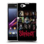 Porovnání ceny HEAD CASE Designs Silikonové pouzdro na mobil Sony Xperia Z1 Compact D5503 HEAD CASE Slipknot - Bloky