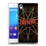 Porovnání ceny HEAD CASE Designs Silikonové pouzdro na mobil Sony Xperia Z3+ (Plus) HEAD CASE Slipknot - Znak