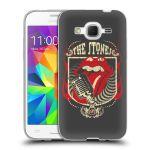 Porovnání ceny Head Case Designs Silikonové pouzdro na mobil Samsung Galaxy Core Prime VE HEAD CASE The Rolling Stones - Mikrák