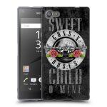 Porovnání ceny Head Case Designs Silikonové pouzdro na mobil Sony Xperia Z5 Compact HEAD CASE Guns N' Roses - Sweet Child