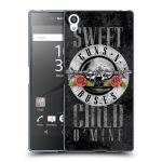 Porovnání ceny Head Case Designs Silikonové pouzdro na mobil Sony Xperia Z5 Premium HEAD CASE Guns N' Roses - Sweet Child