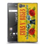 Porovnání ceny Head Case Designs Silikonové pouzdro na mobil Sony Xperia Z5 Compact HEAD CASE Guns N' Roses - Pistole