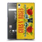 Porovnání ceny Head Case Designs Silikonové pouzdro na mobil Sony Xperia Z5 Premium HEAD CASE Guns N' Roses - Pistole