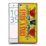 Porovnání ceny Head Case Designs Silikonové pouzdro na mobil Sony Xperia XA HEAD CASE Guns N' Roses - Pistole