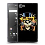 Porovnání ceny Head Case Designs Silikonové pouzdro na mobil Sony Xperia Z5 Compact HEAD CASE Guns N' Roses - Lebka