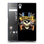 Porovnání ceny Head Case Designs Silikonové pouzdro na mobil Sony Xperia Z5 Premium HEAD CASE Guns N' Roses - Lebka