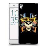 Porovnání ceny Head Case Designs Silikonové pouzdro na mobil Sony Xperia XA HEAD CASE Guns N' Roses - Lebka