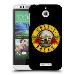 Porovnání ceny Head Case Designs Plastové pouzdro na mobil HTC Desire 510 HEAD CASE Guns N' Roses - Logo