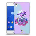 Porovnání ceny Head Case Designs Plastové pouzdro na mobil Sony Xperia Z3 D6603 HEAD CASE Love to be captured