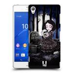Porovnání ceny Head Case Designs Plastové pouzdro na mobil Sony Xperia Z3 D6603 HEAD CASE MACABRE HŘBITOV