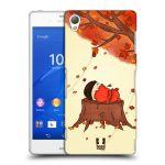 Porovnání ceny Head Case Designs Plastové pouzdro na mobil Sony Xperia Z3 D6603 HEAD CASE PODZIMNÍ JEŽEK