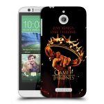 Porovnání ceny Head Case Designs Plastové pouzdro na mobil HTC Desire 510 HEAD CASE Hra o trůny - Jeden trůn
