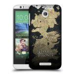 Porovnání ceny Head Case Designs Plastové pouzdro na mobil HTC Desire 510 HEAD CASE Hra o trůny - Mapa západozemí