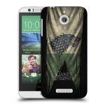 Porovnání ceny Head Case Designs Plastové pouzdro na mobil HTC Desire 510 HEAD CASE Hra o trůny - Stark Flag