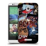 Porovnání ceny Head Case Designs Plastové pouzdro na mobil HTC Desire 510 HEAD CASE AC/DC Koláž desek