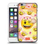 Porovnání ceny Head Case Designs Plastové pouzdro na mobil Apple iPhone 6 HEAD CASE EMOJI - Mrkající smajlíci a kytičky
