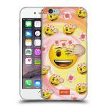 Porovnání ceny Head Case Designs Silikonové pouzdro na mobil Apple iPhone 6 HEAD CASE EMOJI - Mrkající smajlíci a kytičky