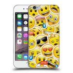 Porovnání ceny Head Case Designs Silikonové pouzdro na mobil Apple iPhone 6 HEAD CASE EMOJI - Velcí smajlíci ZZ