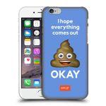 Porovnání ceny Head Case Designs Plastové pouzdro na mobil Apple iPhone 6 HEAD CASE EMOJI - Hovínko OKAY