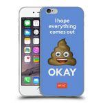 Porovnání ceny Head Case Designs Silikonové pouzdro na mobil Apple iPhone 6 HEAD CASE EMOJI - Hovínko OKAY