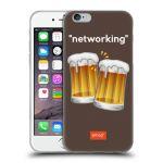 Porovnání ceny Head Case Designs Silikonové pouzdro na mobil Apple iPhone 6 HEAD CASE EMOJI - Pivní networking