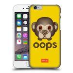 Porovnání ceny Head Case Designs Plastové pouzdro na mobil Apple iPhone 6 HEAD CASE EMOJI - Opička OOPS