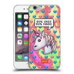 Porovnání ceny Head Case Designs Silikonové pouzdro na mobil Apple iPhone 6 HEAD CASE EMOJI - Jednorožec