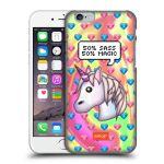 Porovnání ceny Head Case Designs Plastové pouzdro na mobil Apple iPhone 6 HEAD CASE EMOJI - Jednorožec
