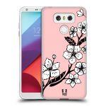 Porovnání ceny Head Case Designs Silikonové pouzdro na mobil LG G6 - Head Case BLOSSOMS VINE