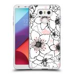 Porovnání ceny Head Case Designs Silikonové pouzdro na mobil LG G6 - Head Case BLOSSOMS SPRINGTIME