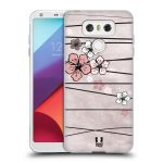 Porovnání ceny Head Case Designs Silikonové pouzdro na mobil LG G6 - Head Case BLOSSOMS PAPER