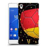 Porovnání ceny Head Case Designs Plastové pouzdro na mobil Sony Xperia Z3 D6603 HEAD CASE KOPAČÁK – NĚMECKO