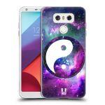 Porovnání ceny Head Case Designs Silikonové pouzdro na mobil LG G6 - Head Case YIn a Yang PURPLE