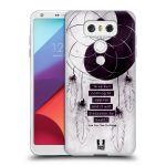 Porovnání ceny Head Case Designs Silikonové pouzdro na mobil LG G6 - Head Case YIn a Yang CATCHER
