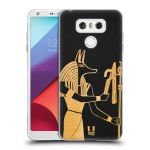 Porovnání ceny Head Case Designs Silikonové pouzdro na mobil LG G6 - Head Case EGYPT ANUBIS
