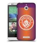 Porovnání ceny Head Case Designs Plastové pouzdro na mobil HTC Desire 510 HEAD CASE Manchester City FC - Oranžové nové logo