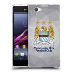 Porovnání ceny Head Case Designs Silikonové pouzdro na mobil Sony Xperia Z1 Compact D5503 HEAD CASE Manchester City FC - Football Club