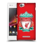Porovnání ceny Head Case Designs Plastové pouzdro na mobil Sony Xperia M C1905 HEAD CASE ZNAK LIVERPOOL FC OFFICIAL RED