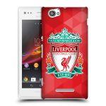 Porovnání ceny Head Case Designs Plastové pouzdro na mobil Sony Xperia M C1905 HEAD CASE ZNAK LIVERPOOL FC OFFICIAL GEOMETRIC RED