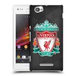 Porovnání ceny Head Case Designs Plastové pouzdro na mobil Sony Xperia M C1905 HEAD CASE ZNAK LIVERPOOL FC OFFICIAL GEOMETRIC BLACK