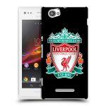Porovnání ceny Head Case Designs Plastové pouzdro na mobil Sony Xperia M C1905 HEAD CASE ZNAK LIVERPOOL FC OFFICIAL BLACK