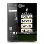 Porovnání ceny Head Case Designs Silikonové pouzdro na mobil Sony Xperia Z5 Compact HEAD CASE LFC You'll Never Walk Alone